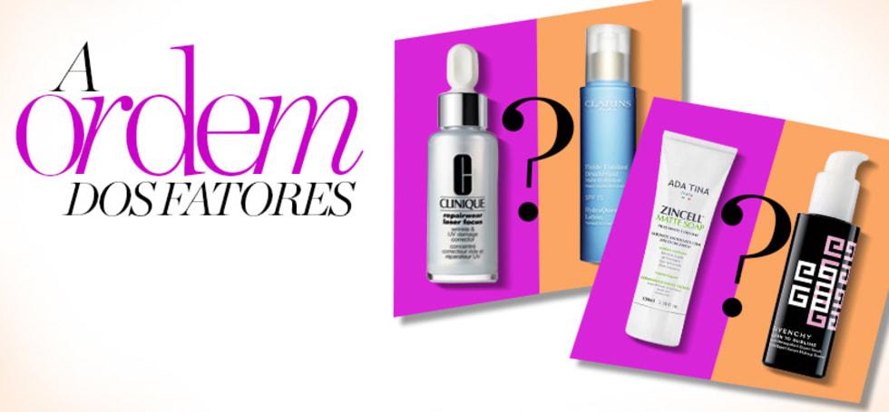 Cremes faciais - a ordem certa de aplicação dos cosméticos