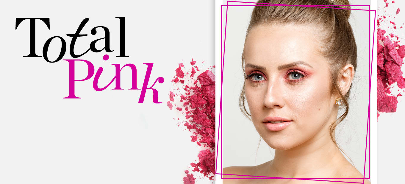 Como fazer maquiagem rosa para a noite