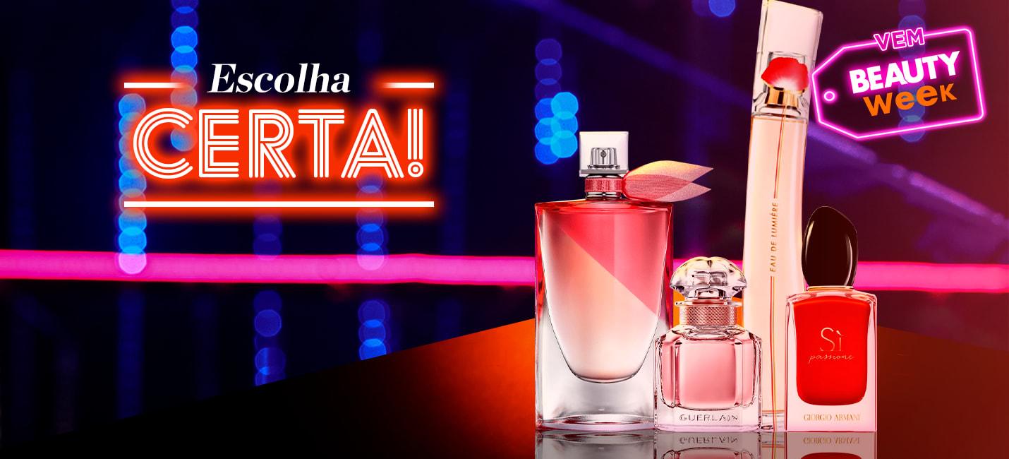 Perfumes para mulheres românticas e modernas