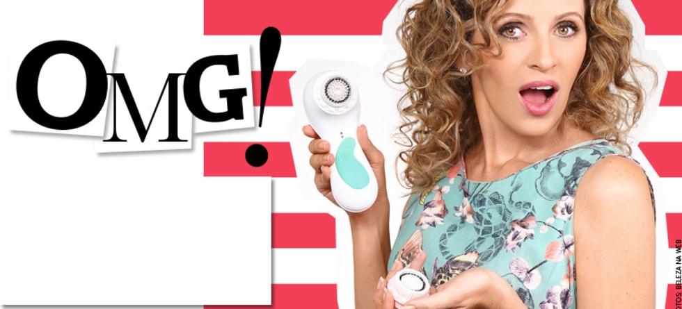 Escova facial para limpeza de pele