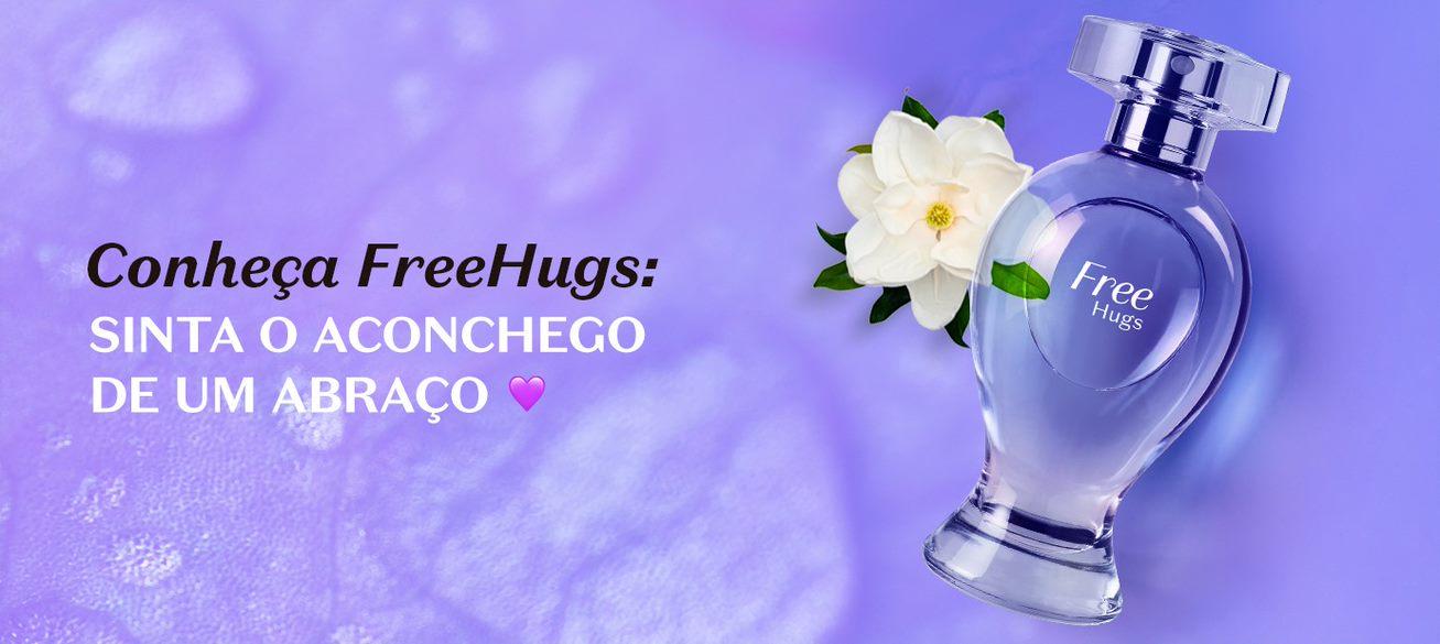 Free Hugs traduz o poder de um abraço em sua fragrância