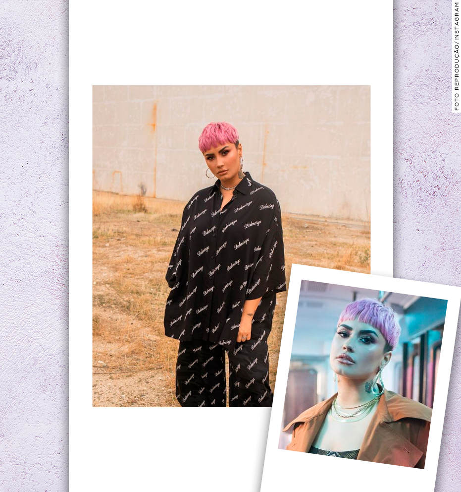 Corte pixie: 3 versões do cabelo de Demi Lovato