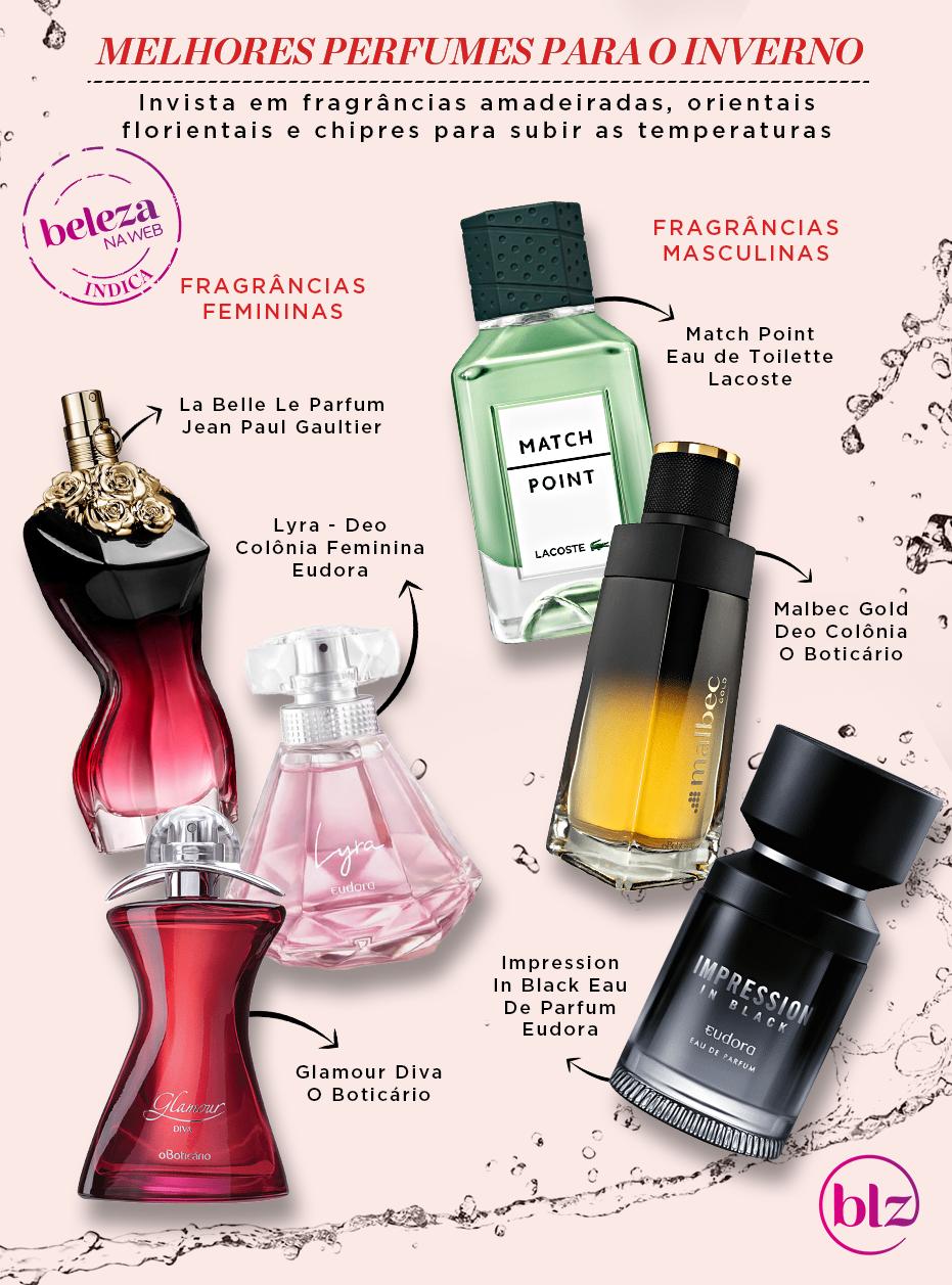 Melhores perfumes para o inverno