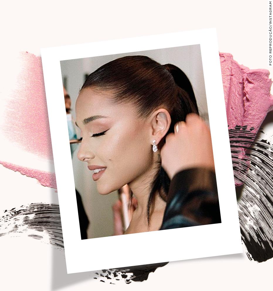 Copie a maquiagem de noiva da Ariana Grande