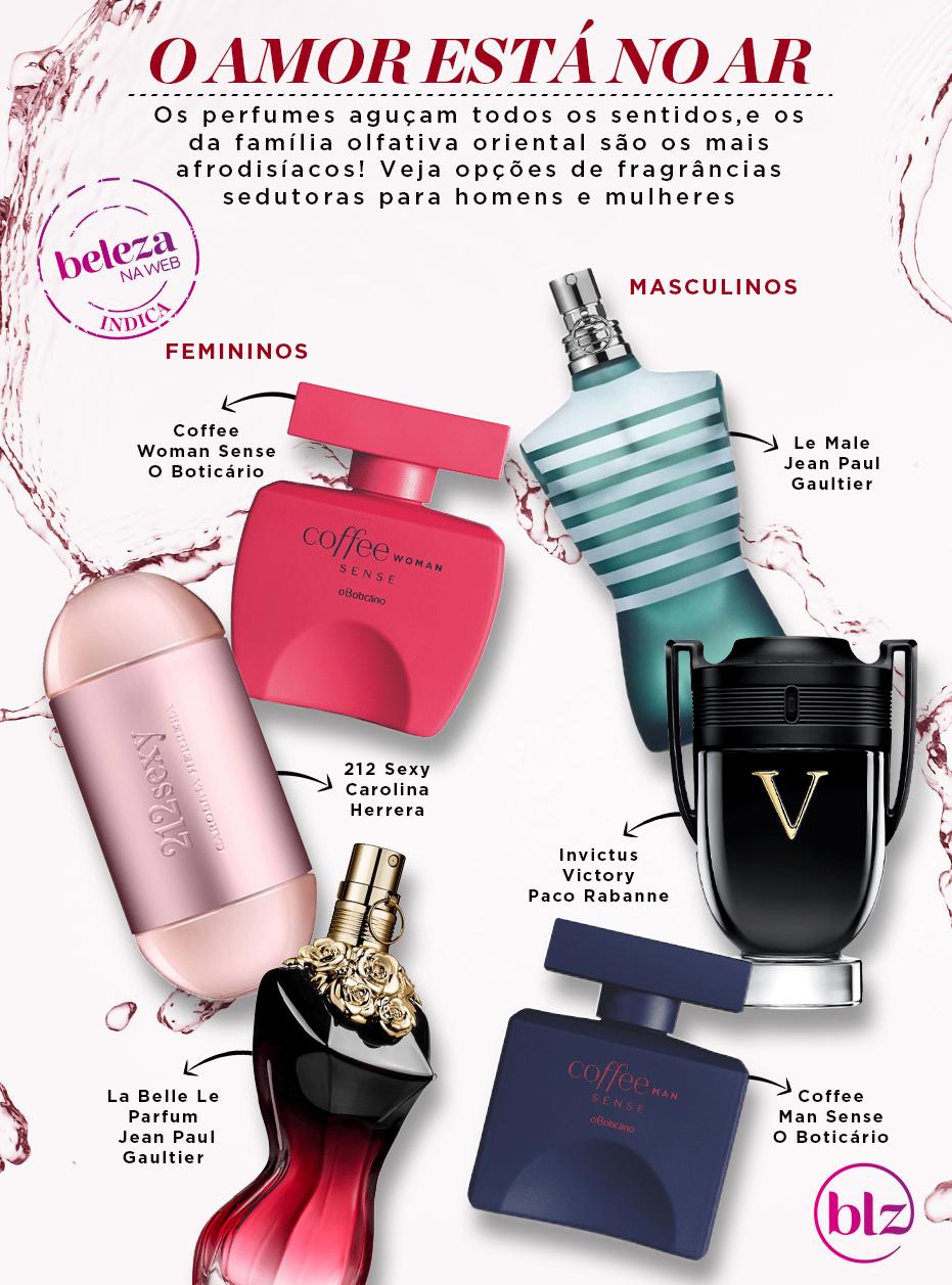 Perfumes sexy: descubra quais são as notas mais afrodisíacas
