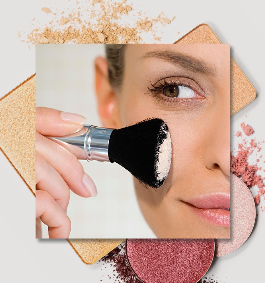 O que cada pincel de maquiagem faz?