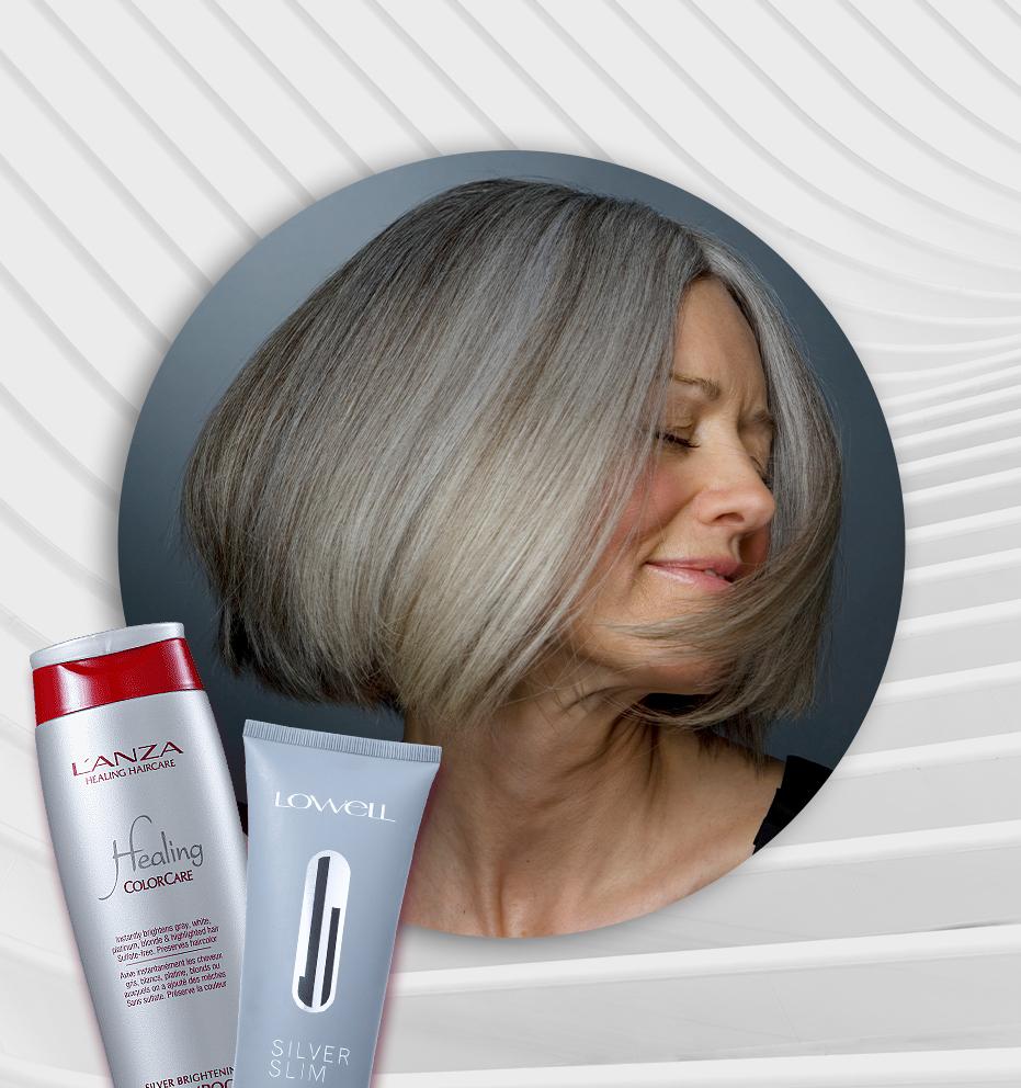 Dicas de shampoos para cabelos grisalhos