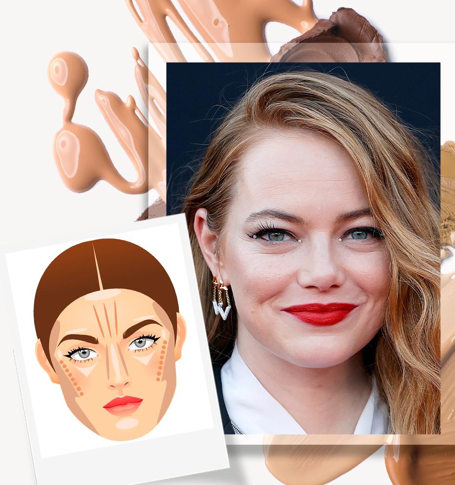 Como fazer contorno para cada tipo de rosto