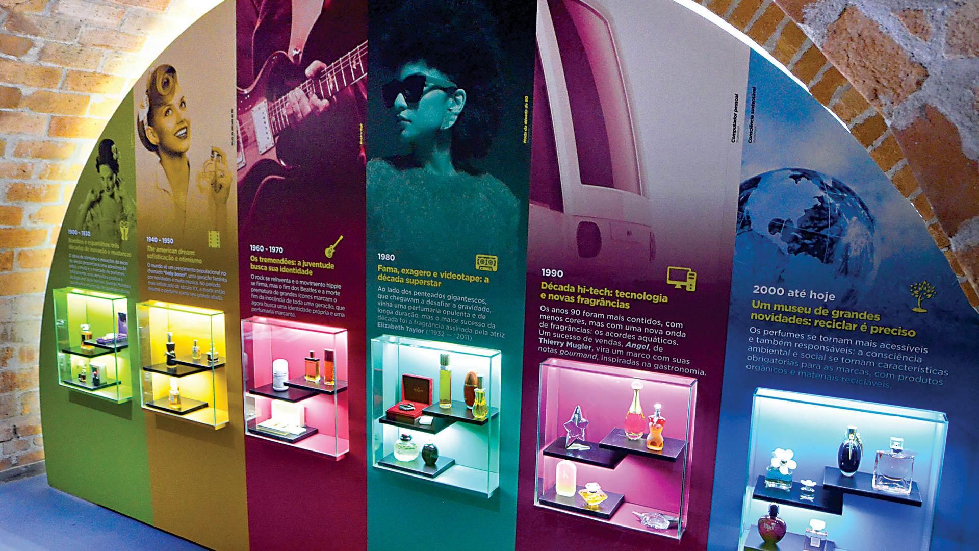 A Sala do Perfume, exposição do perfume