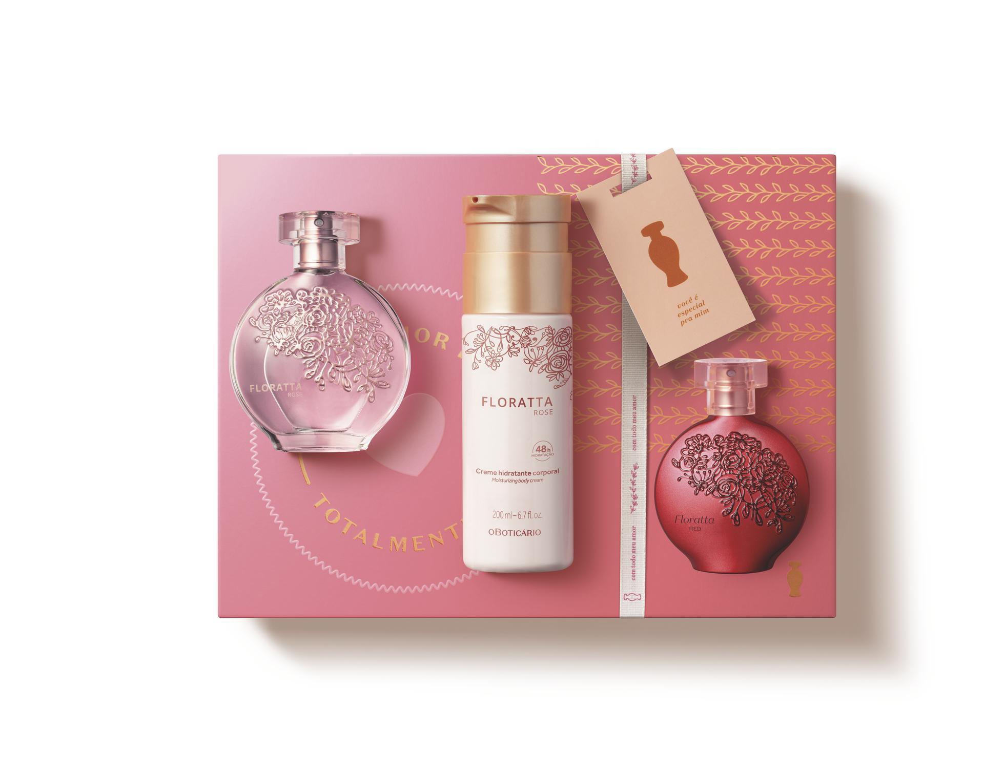 Kit Presente Dia das Mães Boticário Floratta Rose