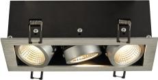 KADUX LED DL Triple 3x9W KADUX LED DL Triple 3x9W Aluminium - Bild 1