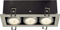 KADUX LED DL Triple 3x9W KADUX LED DL Triple 3x9W Aluminium - Bild 3