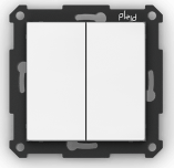 Trådlös tryckknapp, Plejd, WPH-01