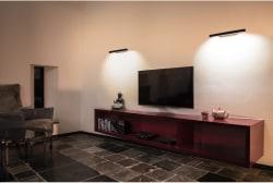VINCELLI 2, Väggarmatur, LED, 2700K, bambu mörk - Bild 4