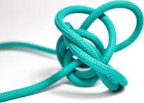 Textilkabel 3x0,75mm² Turquoise