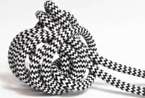 Textilkabel 3x0,75mm² Zebra Skin
