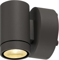 HELIA  Downlight, sandy anthracite