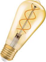 Vintage 1906 LED Edison Guld 2000K