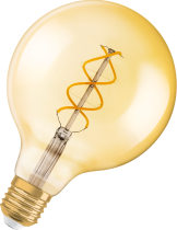 Vintage 1906 LED Globe Guld Dim 2000K