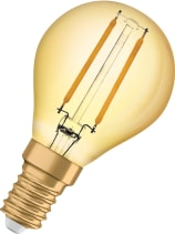 Vintage 1906 LED Klot Guld 2400K