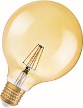 Vintage 1906 LED Globe Guld Dim 2500K