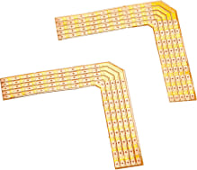 90° Lödhörn f. FLEXSTRIP LED RGBW 24V, max.2A,x2