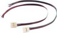 Anslutning f. FLEXSTRIP LED till 10mm bredd, 50cm
