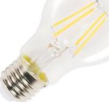 A60 Filament LED, E27, 2700K, 470lm, dimbar