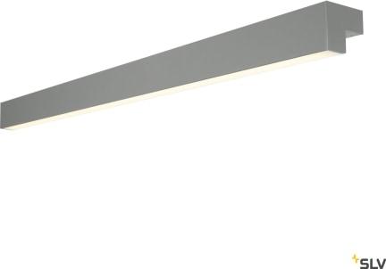L-LINE 120 L-LINE 120 LED, IP44, 3000lm, grå/vit