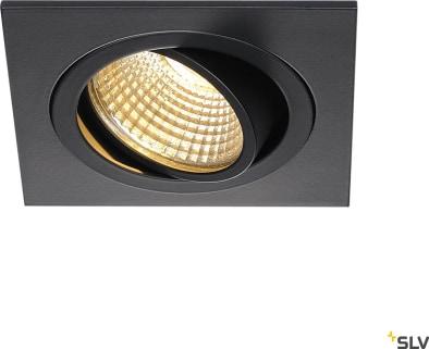 NEW TRIA SET SQUARE Downlightkit, New Tria LED DL Square, svart, 6W, 2