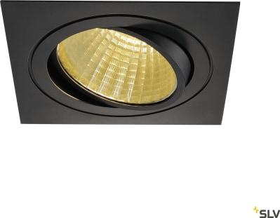 New Tria LED DL Square New Tria LED DL Square Svart 2700K