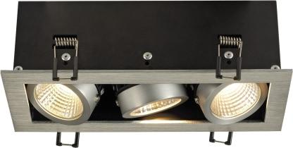 KADUX LED DL Triple 3x9W KADUX LED DL Triple 3x9W Aluminium
