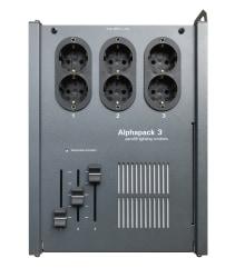 Alphapack 3, 3x6,3 Amp Schuko