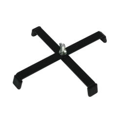 Floor stand 4 legs black FS4LB
