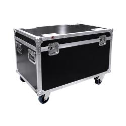 Flightcase, Touring Case 4xVizi QWash / HexWash
