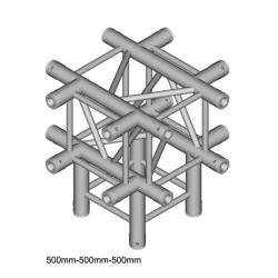 Trosshörn (4-kant), DT 34/3, 5-vägs