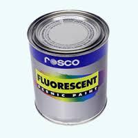 fluorescerande färg