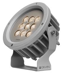 LED-armatur, Griven, Jade W IP65, Spot, 3000K