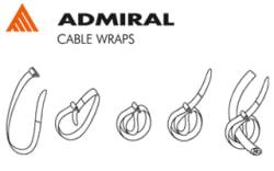 Cable Wrap, 260x25 mm, 5 st/fp, vit - Bild 3