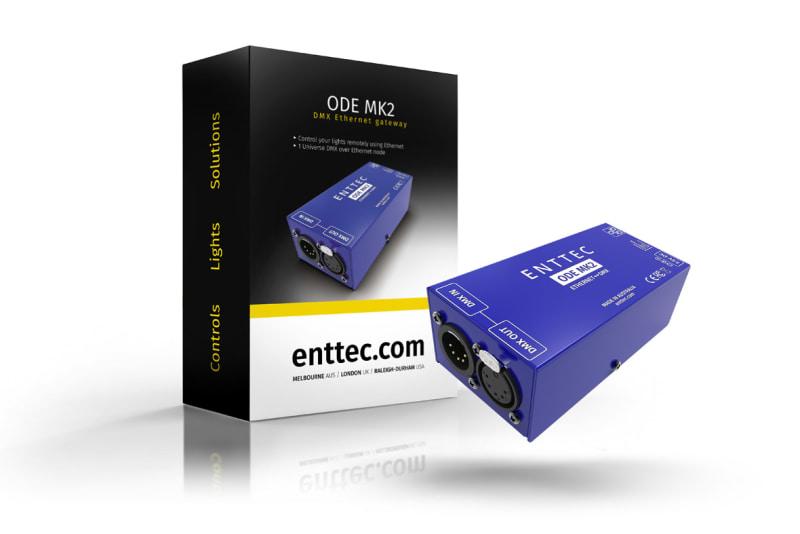 Open DMX Ethernet (ODE) MK2