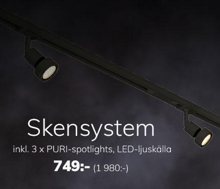 Skensystem inkl 3 x Puri