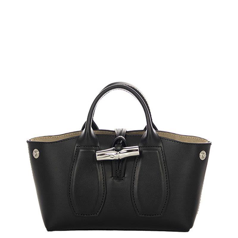 Longchamp女士撞色聚会女士手提包10057 HSC 001