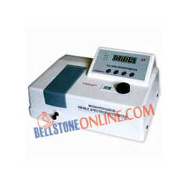 MICROPROCESSOR SPECTROPHOTOMETER (VIS) SINGLE BEAM (IMPORTED)