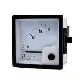 DC milli ammeter 0-500 ma