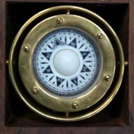 """Brass Jumble Compass Size 3"""""""