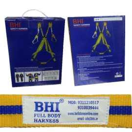 Full Body Harness Double Scaffolding Hook Green Safety Belt