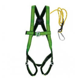 Safety Harness Belt Single Hook Scaffhold Full Body for Working Construction