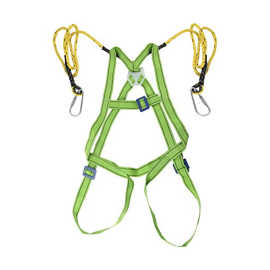 Safety Harness Belt Double Hook Protective Full Body for Working Construction