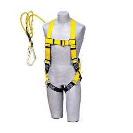 UNISAFE FULL BODY HARNESS SINGLE SCAFFOLDING HOOK