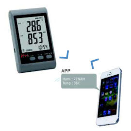 R-Tek Temp. SMS Data Logger With Your Mobile SMS Facility GSM-20 Sensor Location Internal